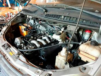 Переоборудование ГАЗели с бензина на дизель